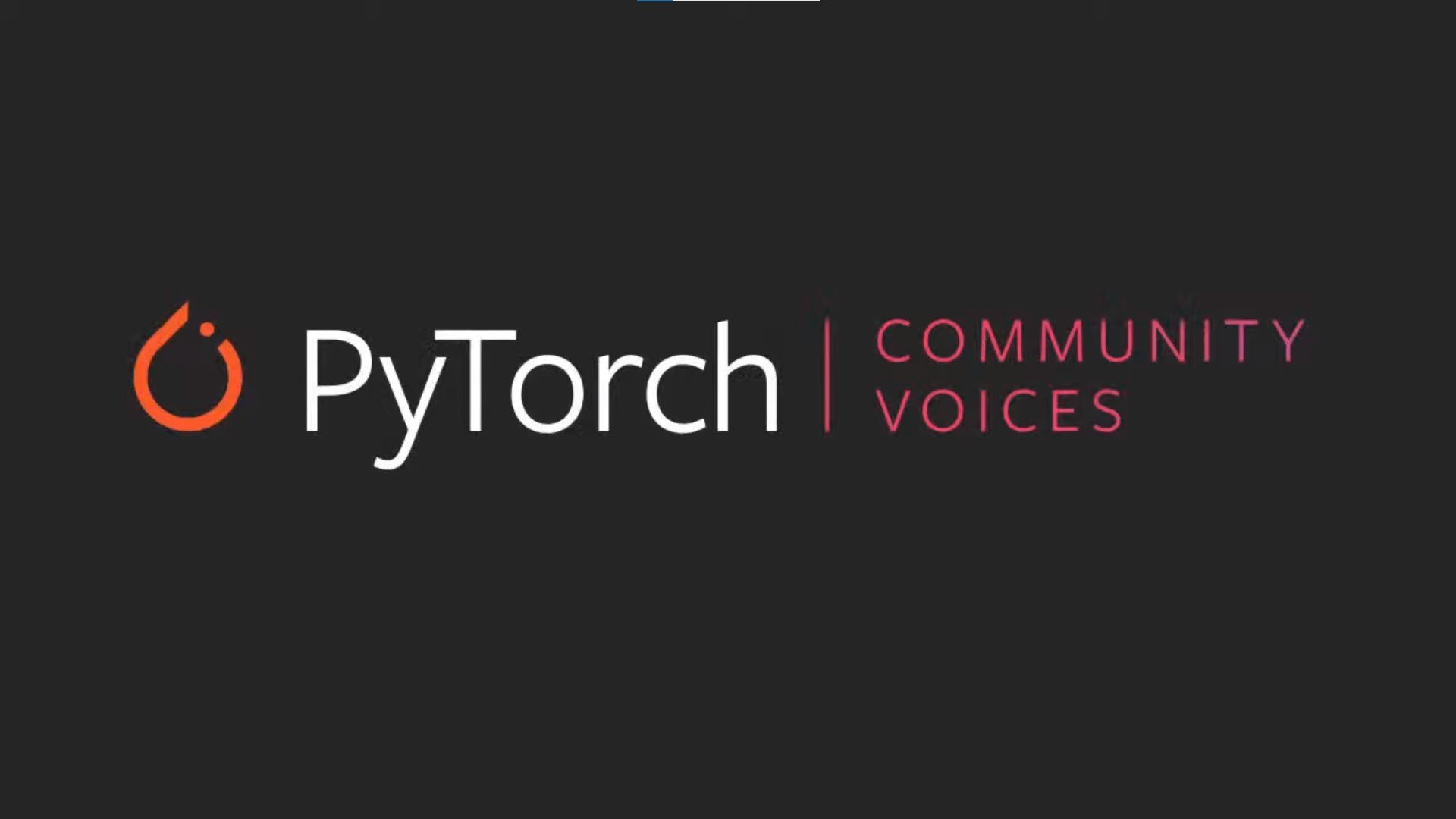 PyTorch community voices